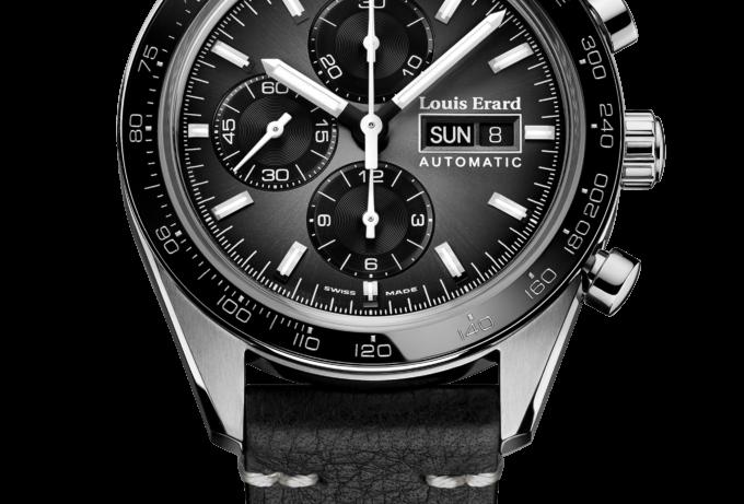 Louis Erard Chronograph La Sportive Limited Edition Titanium