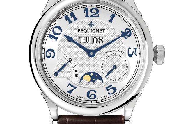 Pequignet Paris Royale, Day-Date, Moonphase
