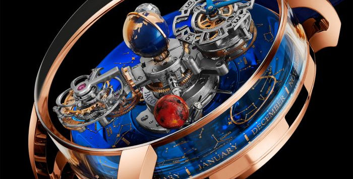 Jacob & Co. Astronomia Sky Sapphire Mars. 18 pieces Limited