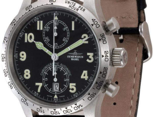NC Pilot Tachymeter Chronograph Bicompax