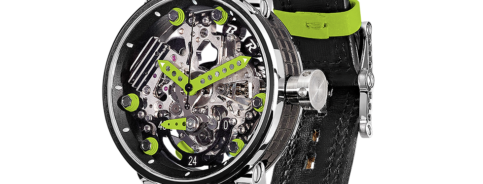 B.R.M R46 The Watch with the Engine