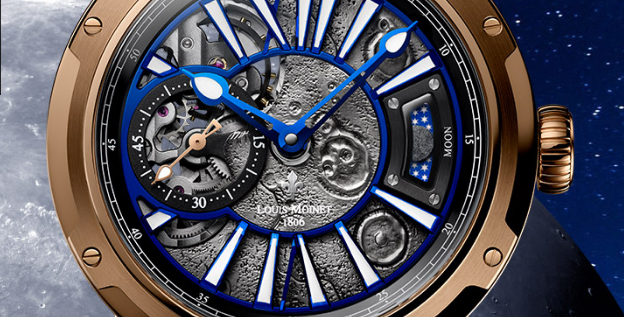 """Louis Moinet """"MOON"""" Limited 12 pieces"""