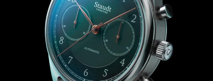 Praeludium Chronograph British Racing Green