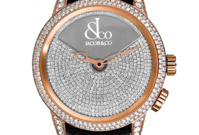 Jacob & Co. Caligula Rose Gold Pave 69 Pieces Limited