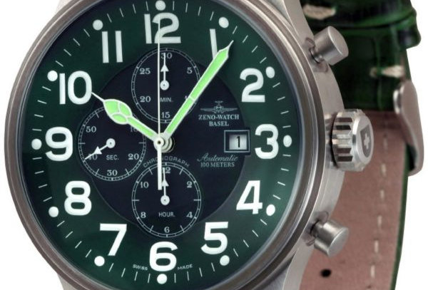 Giant Chronograph Date green Limited edition of 100 pieces only.