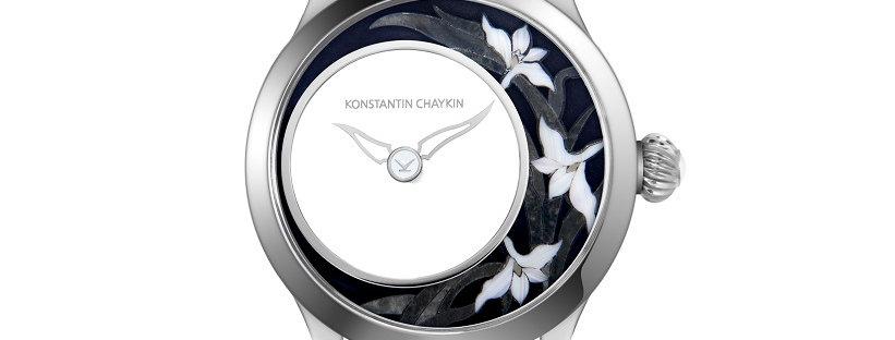 Konstantin Chaykin Levitas Mosaic Lily Whitegold Limited 5 pieces