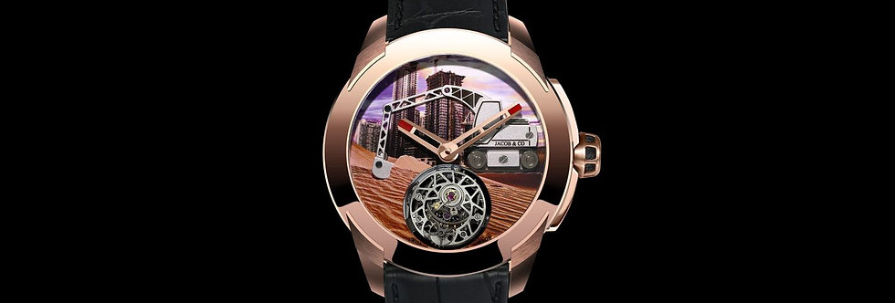 Jacob & Co. Pioneer Tourbillon Limtited: 18 Pieces