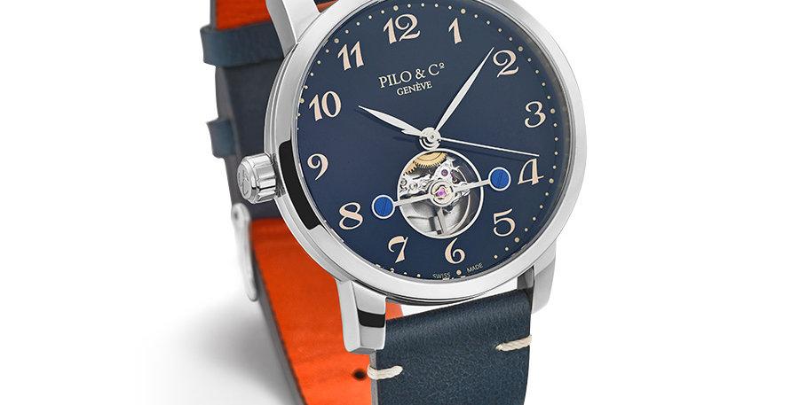 Pilo & Co Tempo Steel Blue Dial