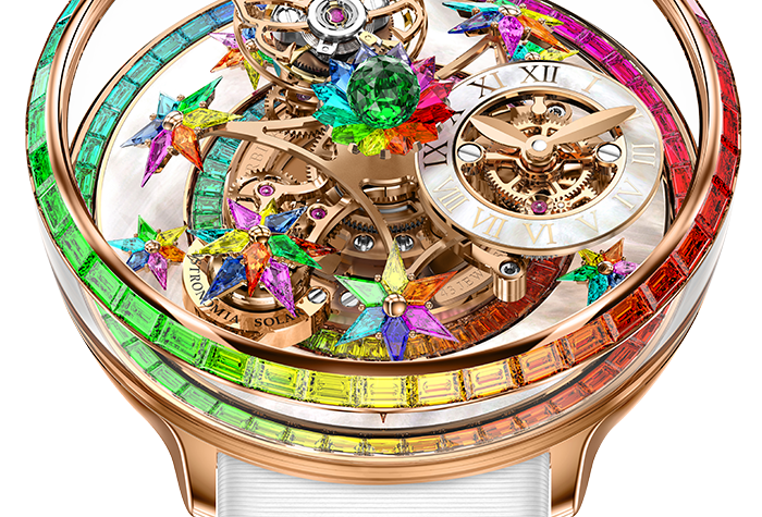 "Jacob & Co. Astronomia Fleurs de Jardin ""Rainbow"" 1 Watch available"