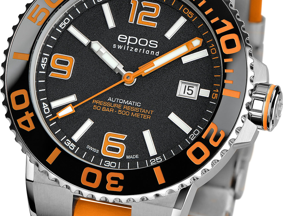 Epos SPORTIVE Diver, ORANGE Serie