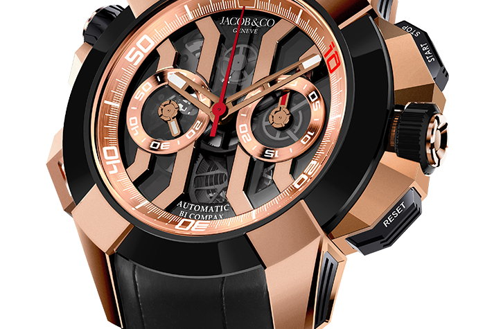 Jacob & Co. Epic X Chrono Luis Figo Limited Edition