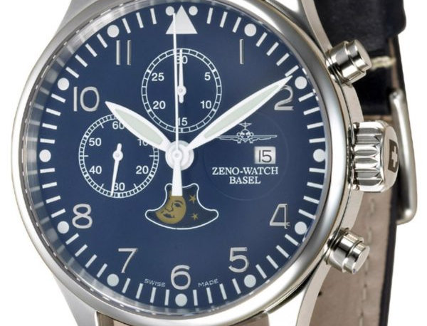 Zeno-Watch Basel Vintage Chrono 7768 – Limited Edition blue