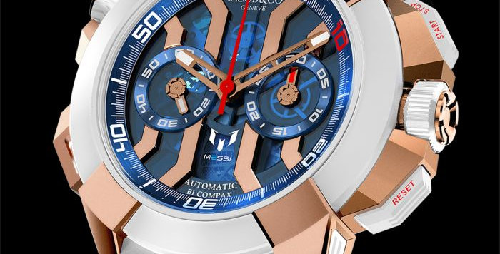 Jacob & Co. EPIC X CHRONO MESSI ROSE GOLD 180 Pieces Limited