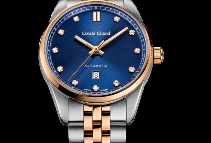 Louis Erard Héritage Lady Diamond Optional: Green Dial