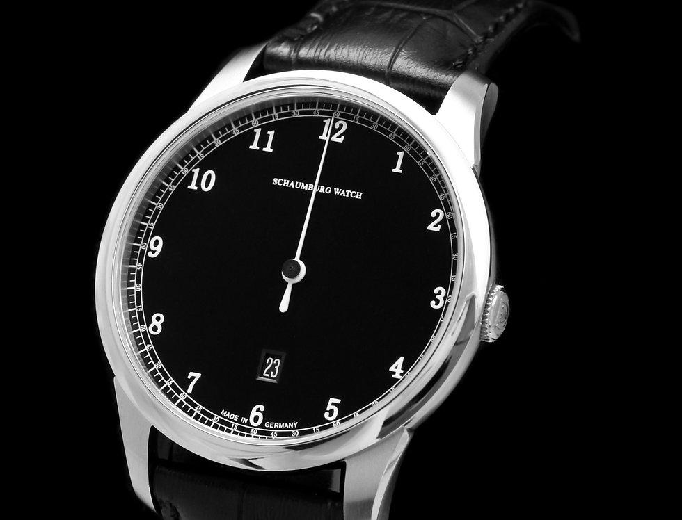 Schaumburg Watch Gnomonik black