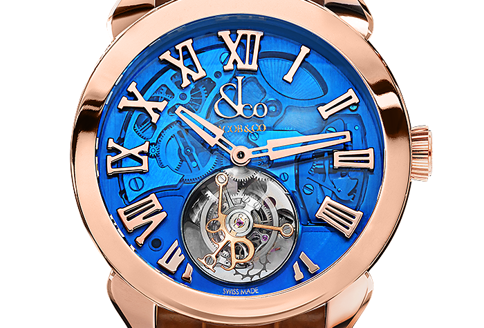 Jacob & Co. PALATIAL FLYING TOURBILLON HOURS & MINUTES