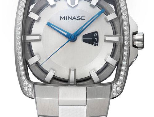 Minase Horizon mid-size Jahr 2021Stainless Steel white Rubber