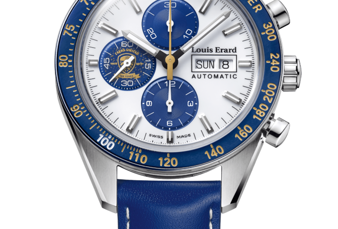 Louis Erard Chronograph La Sportive Leeds United FC Centenary Limited Edition
