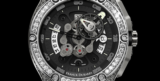 Franck Dubarry Crazy Wheel Maori Tattoo Diamonds