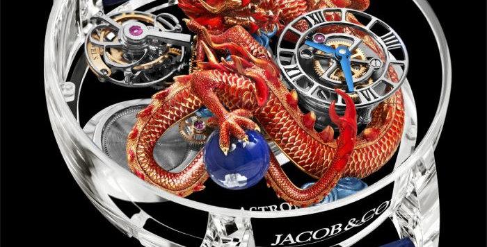 Jacob & Co. Astronomia Flawless Imperial Dragon Piece Unique