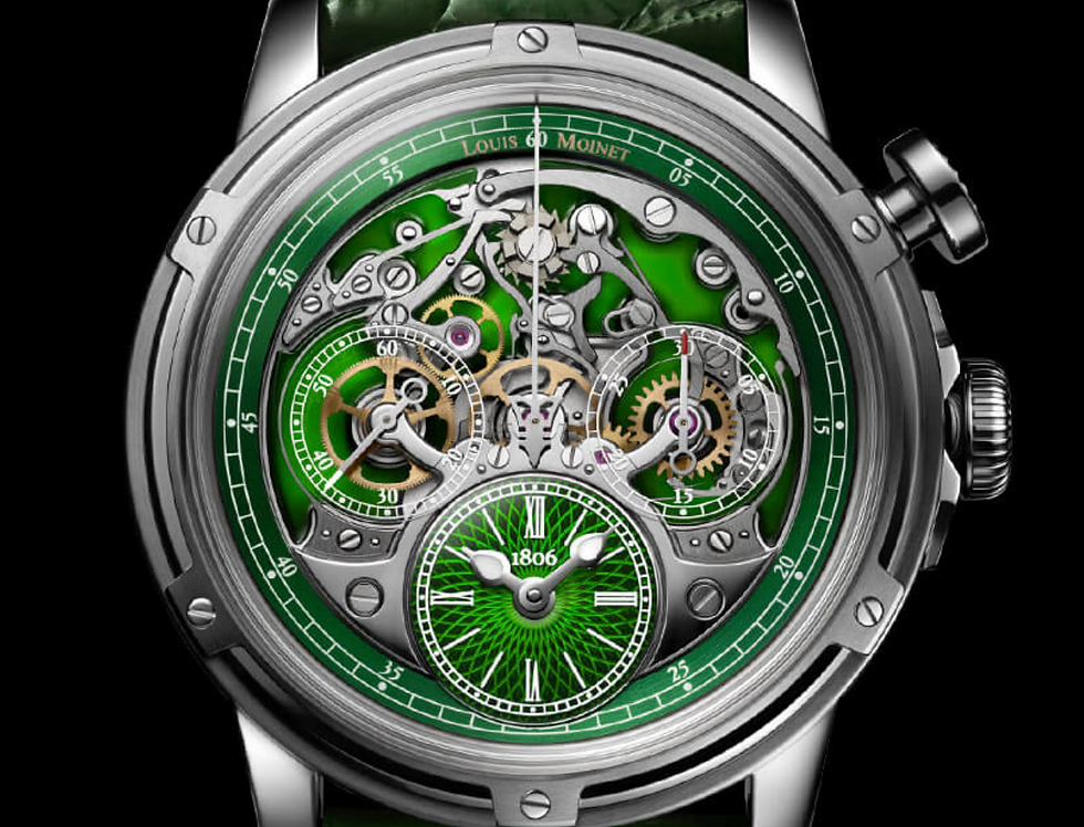 Louis Moinet Memoris Superlight Titanium