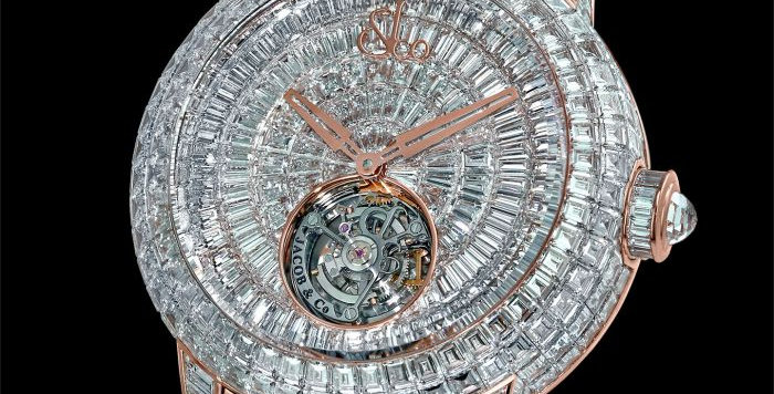 Jacob & Co. CAVIAR TOURBILLON DIAMOND BRACELET ROSE GOLD 18 Pieces Limited