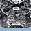 Thumbnail: Jacob & Co. Bugatti Chiron 16-Zylinder Blue Titanium