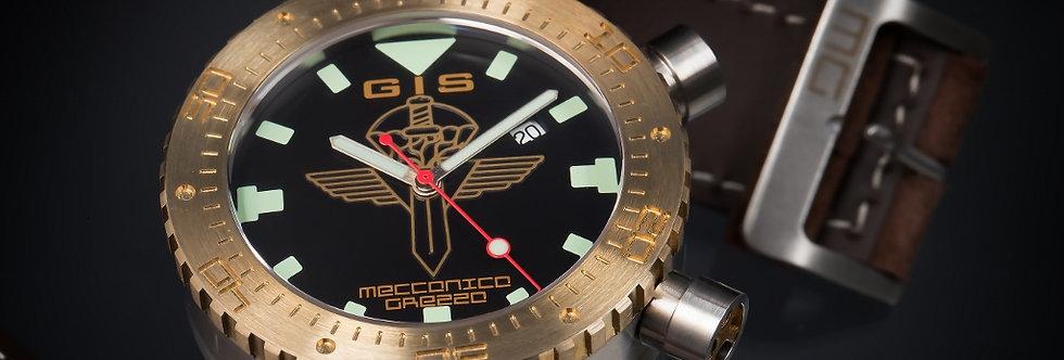 Meccanica Grezza MG01-GIS Bronze Lünette