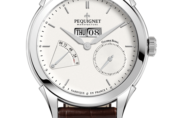 Pequignet Rue Royale Power Reserve Day-Date