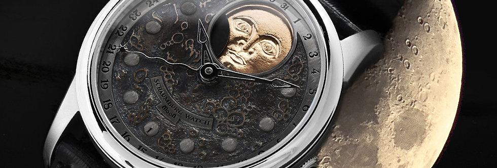 Schaumburg Watch Grand Perpetual Moon Landscape handmade