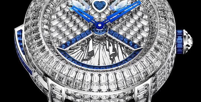 Jacob & Co. Rasputin Tourbillon Baguette Blue Sapphires Piece Unique