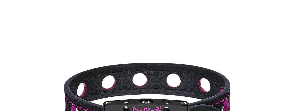 Speed BRM Armband schwarzer Titan & Fuchsia Lack
