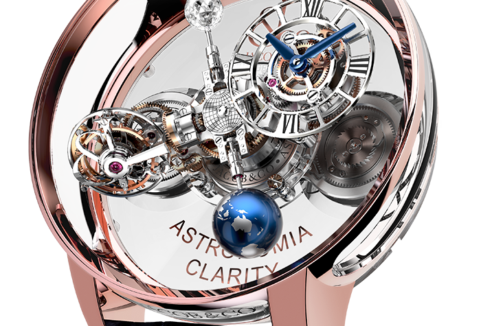 Jacob & Co. Astronomia Clarity Limited 9 Pieces
