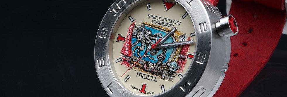 """Meccanica Grezza Jules Verne """"Window to the Sea"""""""