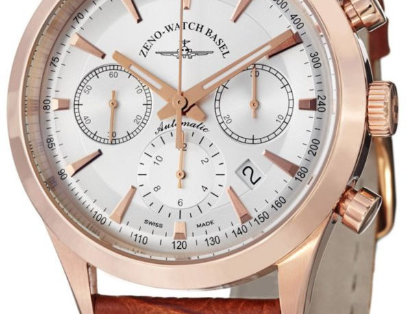 Gentleman Automatic Chrono 7753 gold plated