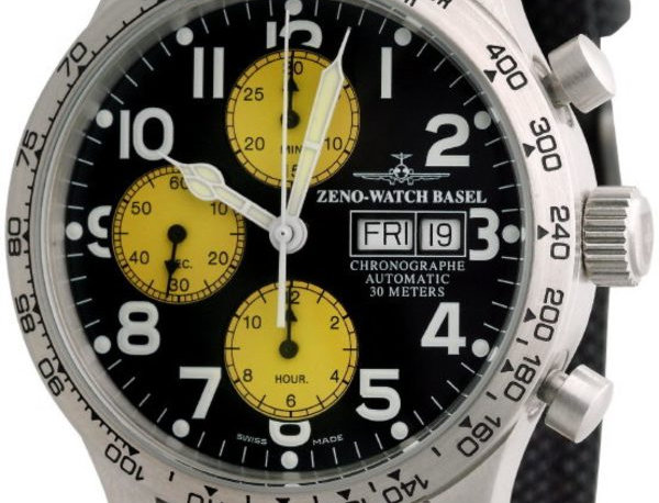 NC Pilot Tachymeter Chronograph Day-Date