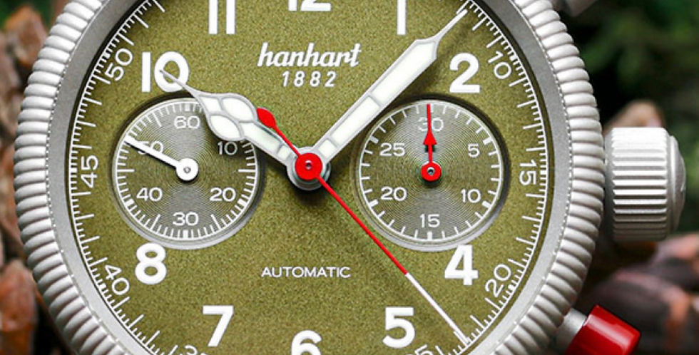 Hanhart Pioneer Mk II Anniversary 80 Years limited edition 200 pieces special of