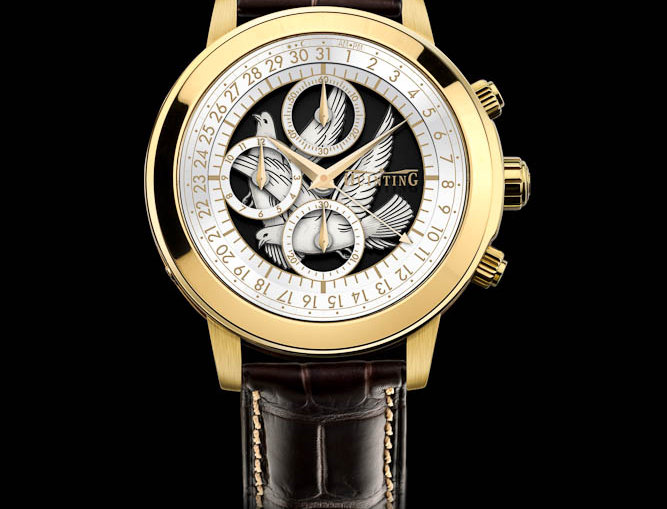 Quinting Mysterious Chronograph Dove of Geneva limted Edition