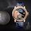 Thumbnail: Louis Moinet Moon Race Set 4 Gold Watches Unique Piece