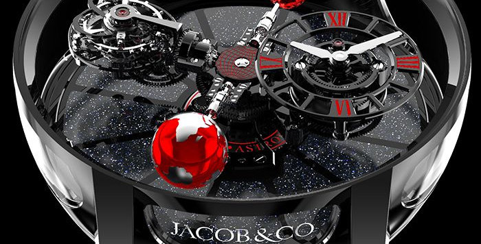 Jacob & Co. ASTRONOMIA TOURBILLON BLACK CERAMIC BLACK & RED MOVEMENT