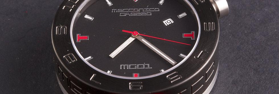 Meccanica Grezza MG01-44 Automatic Red