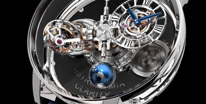 Jacob & Co. Astronomia Clarity Whitegold 9 Pieces Limited
