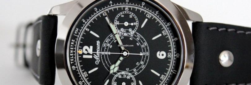 Mercure Telemeter Monopusher Chronograph