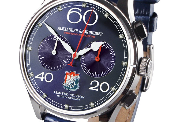 Alexander Shorokhoff Chrono Royal Blue Special Offer Automatic
