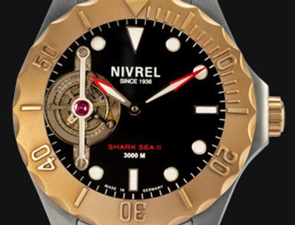 Nivrel Shark Sea II Diver Tourbillon
