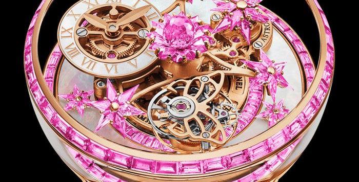 Jacob & Co. FLEURS DE JARDIN FULL PINK SAPPHIRES 101 Pieces Limited