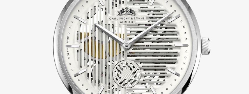 Carl Suchy & Söhne Waltz No.1 Skeleton Manufakturkaliber, Mikrorotor