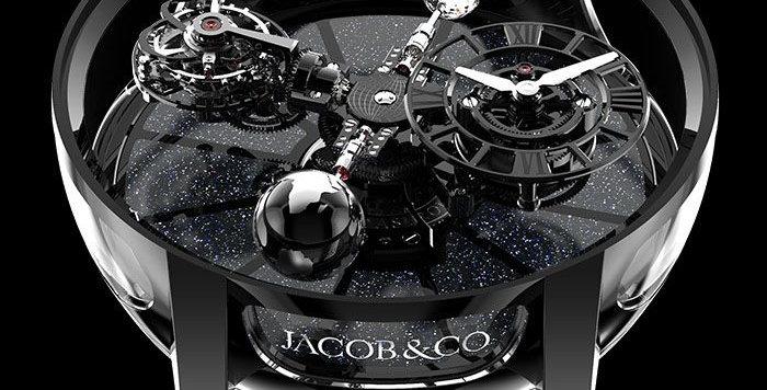 Jacob & Co. ASTRONOMIA TOURBILLON BLACK CERAMIC BLACK MOVEMENT