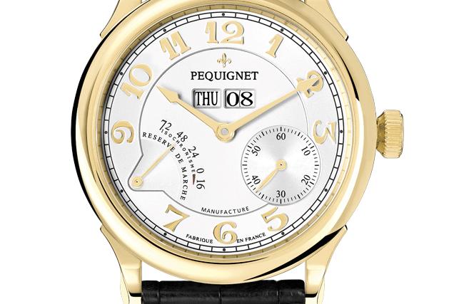 Pequignet Paris Royale, Gold, Day-Date