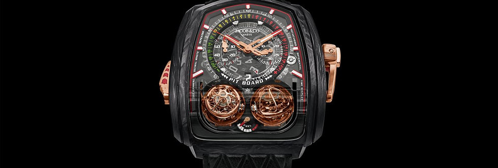 Jacob & Co. Twin Turbo Furious Carbon 18 Pieces Limited